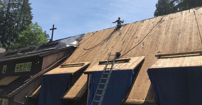 New Church Roof Update image