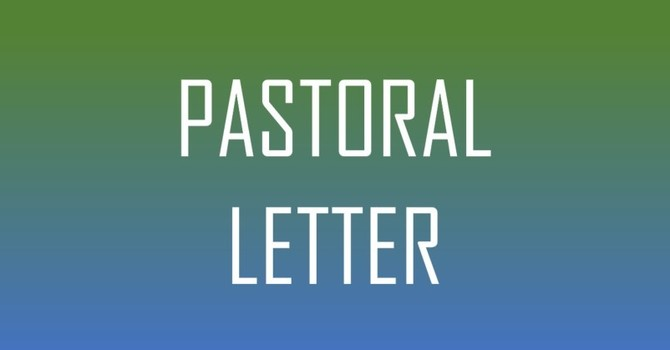 Pastoral Letter May 13, 2020 image