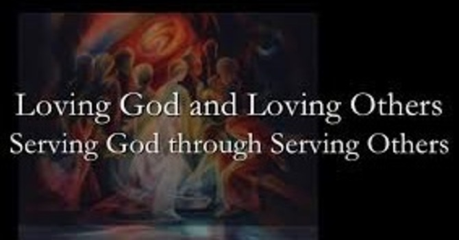 WE PURPOSE TO SERVE GOD BY SERVING OTHERS image