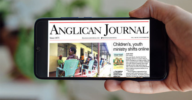 Anglican Journal - October 2020 image
