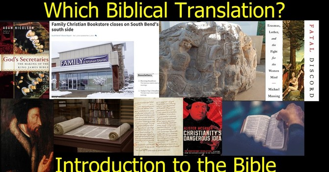 What English Translations Should I Use to Read the Bible?