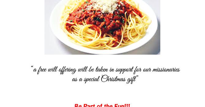 A Free Spaghetti Dinner & Talent Night image
