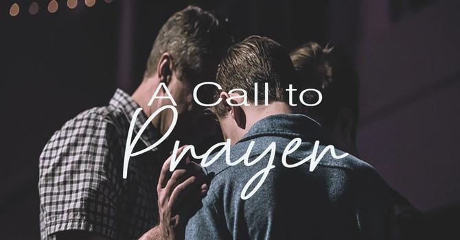 A Call to Prayer! image