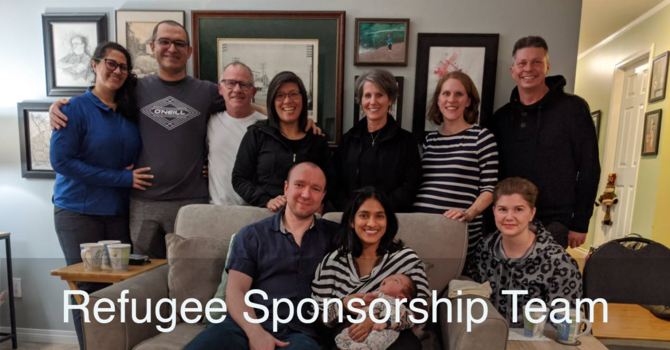 Our Refugee Sponsorship Team image