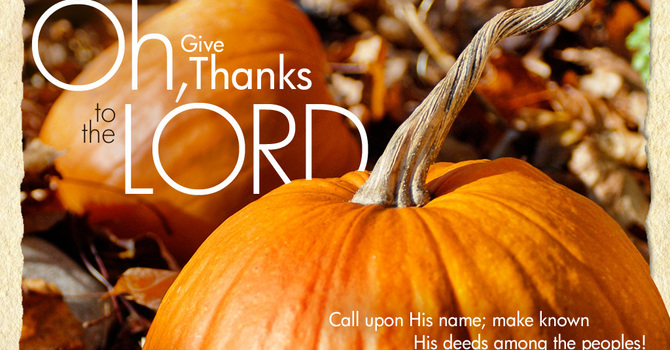 October 11, 2020 Church Bulletin image