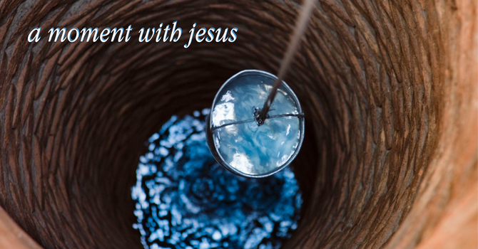 A Moment with Jesus