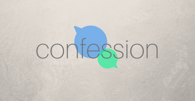 Prayer: Confession
