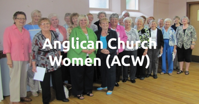 Anglican Church Women (ACW)