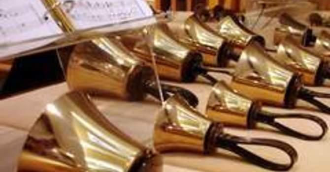 Handbell Choir practice