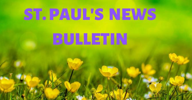 Sunday, May 24th News Bulletin image