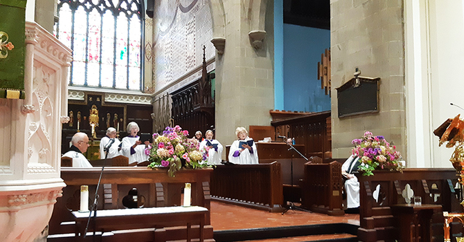 Installation, collation held at Cathedral  image