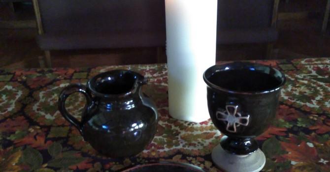 World Communion Sunday -- Communion