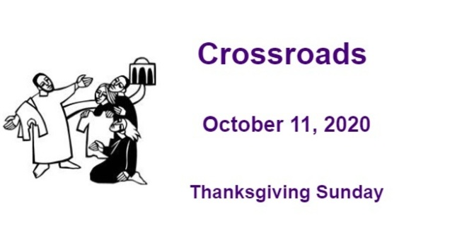 Crossroads October 11, 2020 image