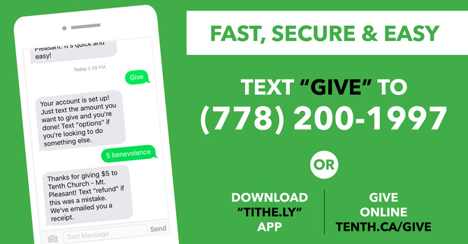 Give by Text FAQs image