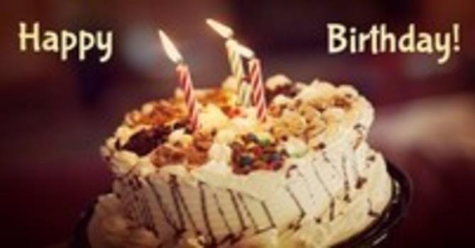 Birthday Wishes to Parishioners  image