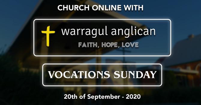 Vocations Sunday