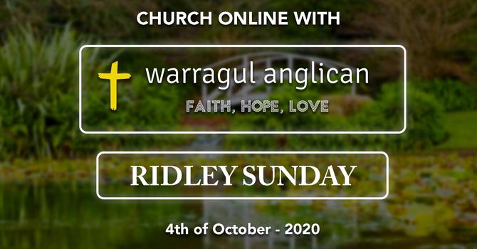 Ridley Sunday