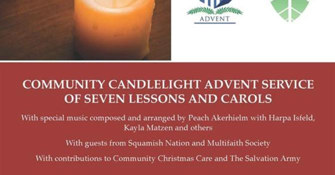 Ecumenical Worship and Music for Advent in Squamish image