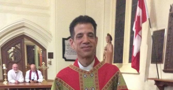 The Reverend Dr. Leonel Abaroa-Bolona on the move image