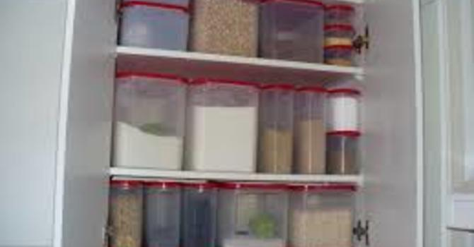 Tupperware cupboards and my Jesus Story image