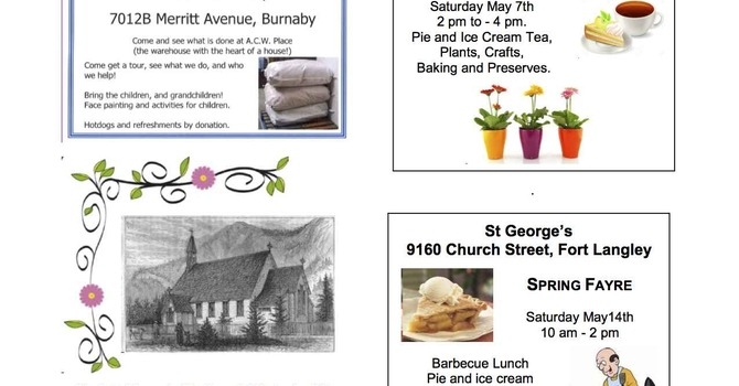 ACW Events Around the Diocese this Spring image