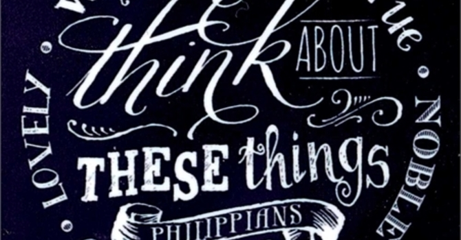 What are you thinking about these days? image