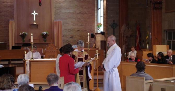 All Saints, Burnaby Welcomes a New Deacon image