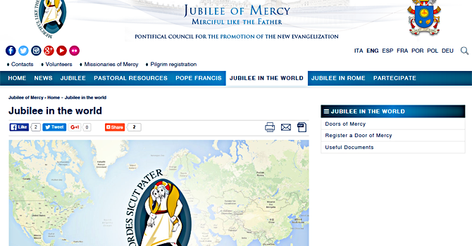 Jubilee in the World - Doors of Mercy image