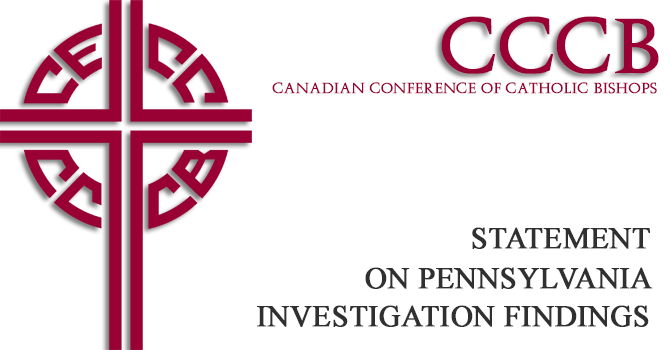 CCCB Statement regarding Pennsylvania investigation findings image