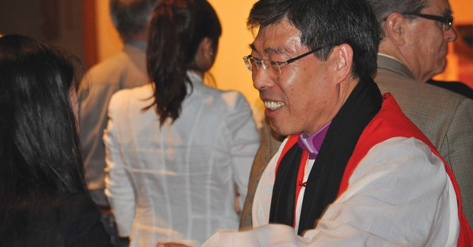 Archbishop Paul Kim at Christ Church Cathedral image