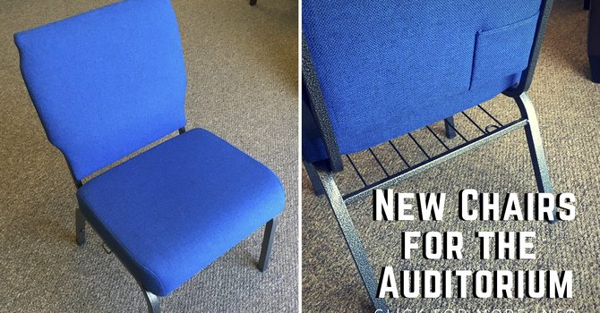 We're getting new chairs! image