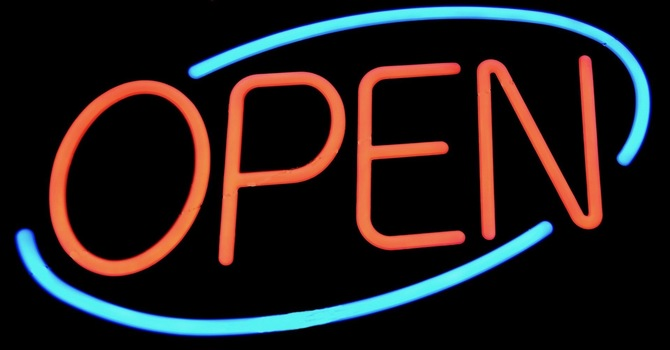 We are open this Sunday image