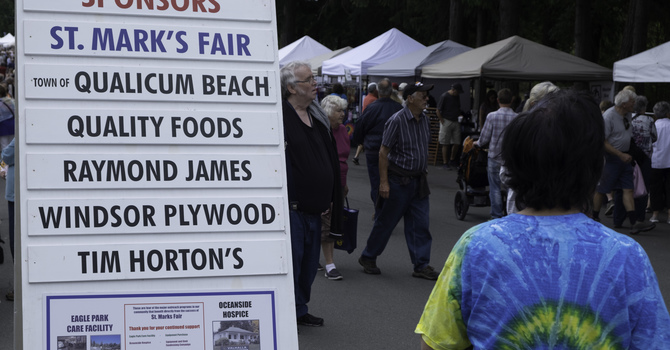 St. Mark's Fair Vendor Package is now online image