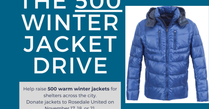 The 500 Winter Jacket Drive