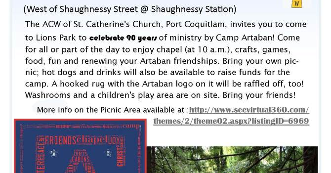 Camp Artaban Picnic image