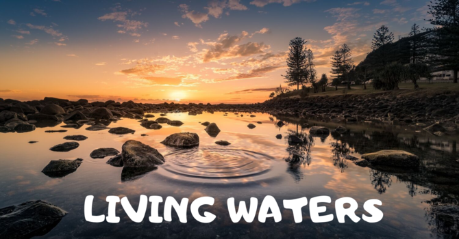 July/August Living Waters image