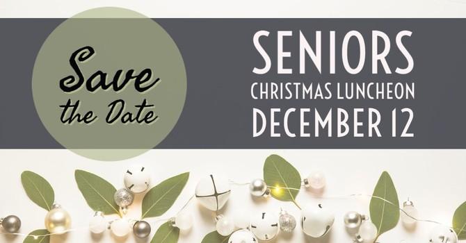 CANCELLED Seniors Christmas Luncheon