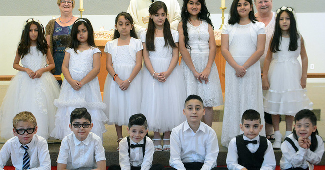 First Communion at Epiphany, Surrey image