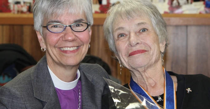 Claudette Hayward Receives ODNW at Home Parish of All Saints', Ladner image