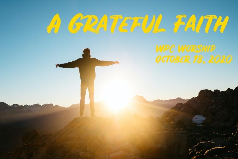 A Grateful Faith
