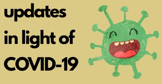 Latest Parish News in Light of COVID-19 Pandemic image