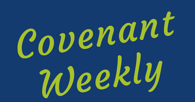 Covenant Weekly - April 3, 2018 image
