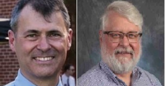 Goodbye Pastor Mark; Welcome Pastor Jim image