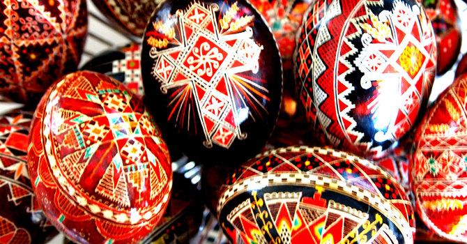 Custom of Giving Easter Eggs image