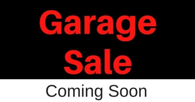 Upcoming Garage Sale image