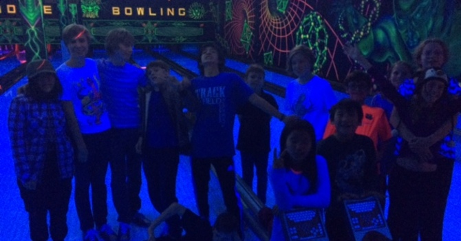 Youth Group Laser Bowling image