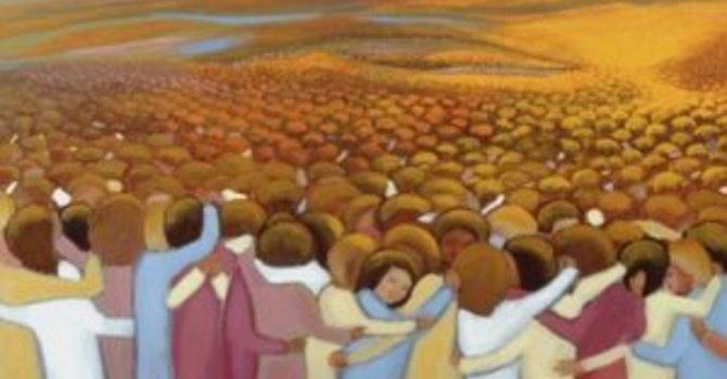 "Sermon ""Saintly Living"" on All Saints' Day image"