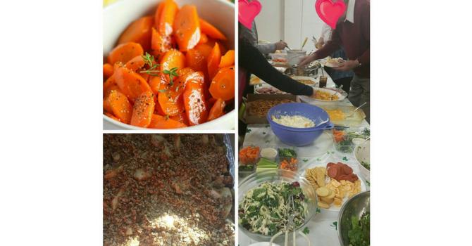 Community Potluck Dinner a Great Success! image