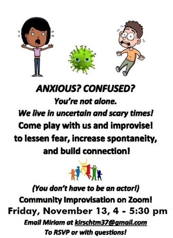 COMMUNITY IMPROVISATION ON ZOOM: TRANSFORMING OUR FEARS
