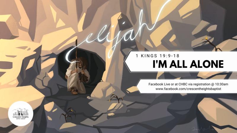 Elijah: I'm All Alone